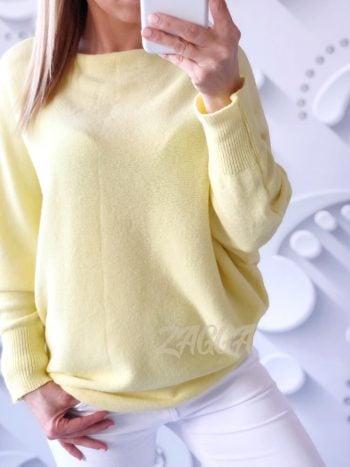 sweterek Nietoperz żółty