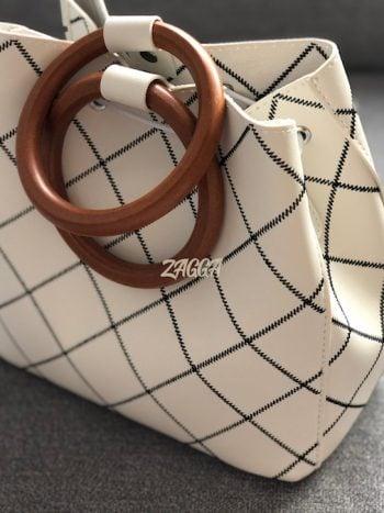 torebka MILA biała