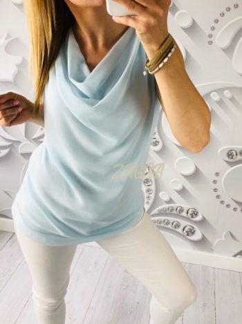 luźna bluzka falowana niezbędna rzecz w każdej szafie elegancka sprawdzi się na codzień jak i wyjścia okolicznościowe