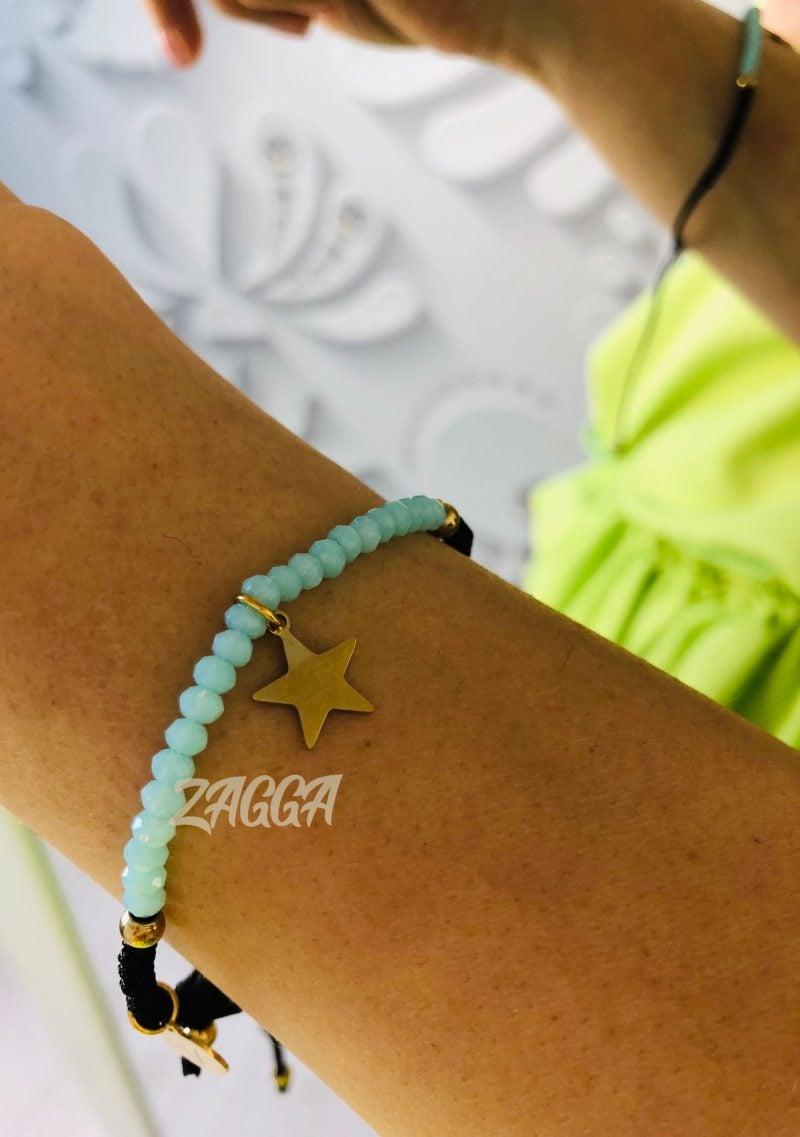 bransoletka STAR blue