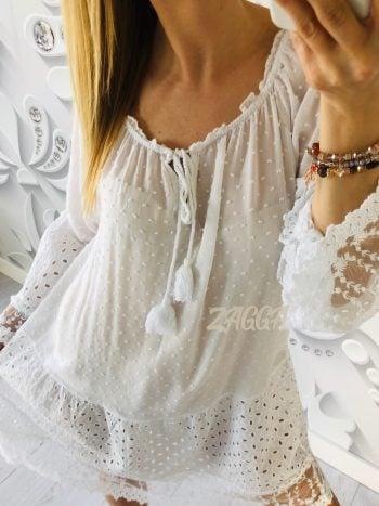 sukienka NICOLE biała