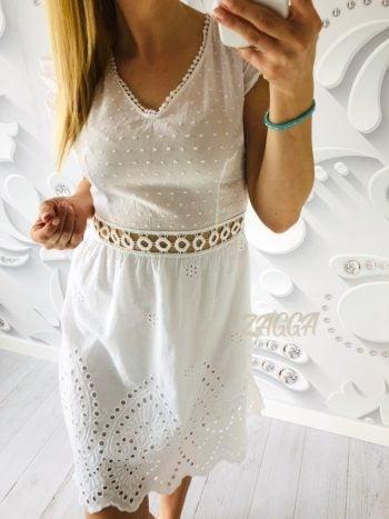 sukienka CARMEN boho white