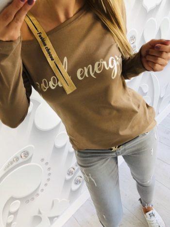 bluzka ENERGY brown