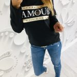 bluzka AMOUR black
