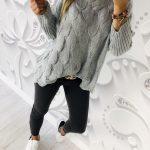 sweter HULL gray