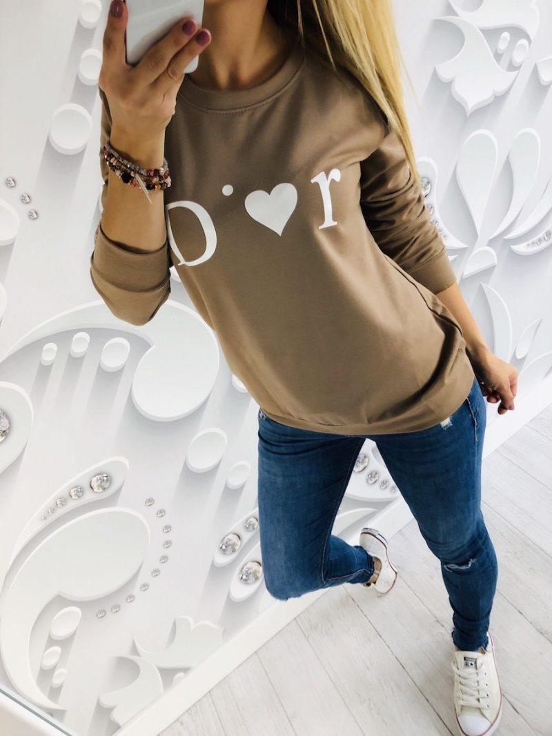 bluza DIOR beż