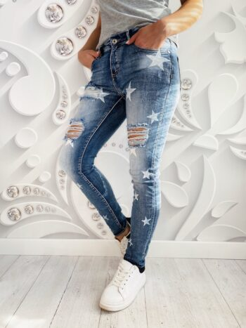 jeans STARS ripped