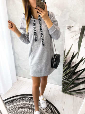 bluza tunika GRAY