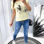bluzka OAK lime