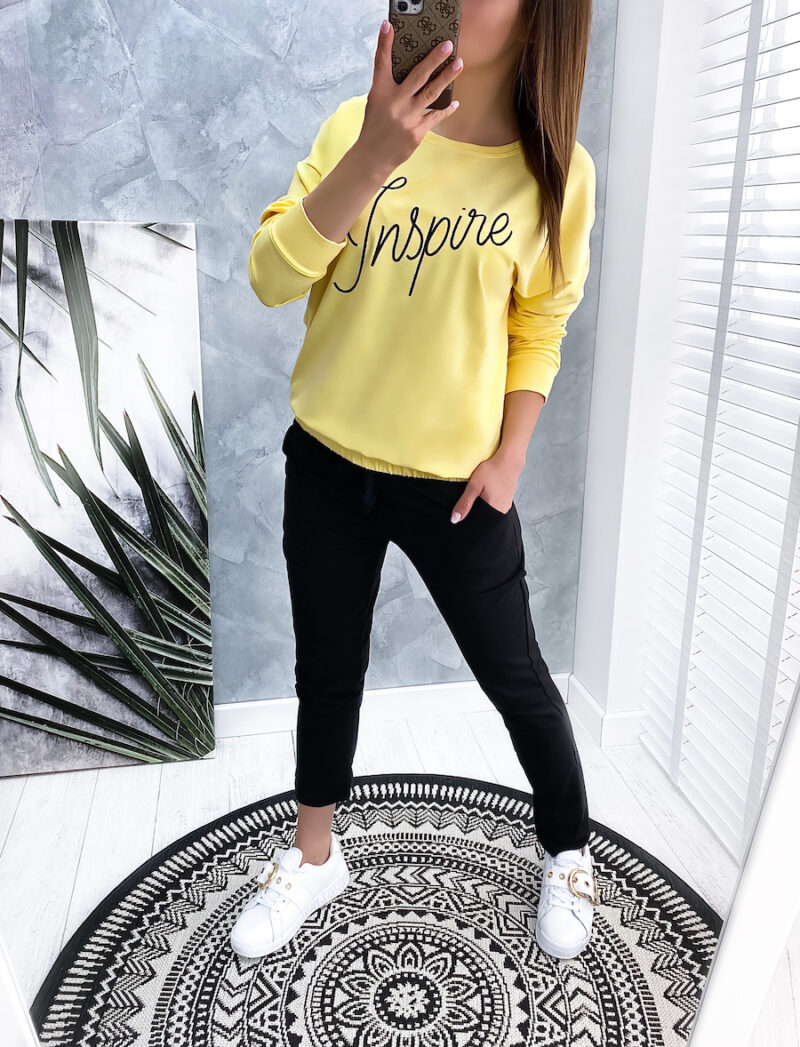 komplet dresowy INSPIRE yellow
