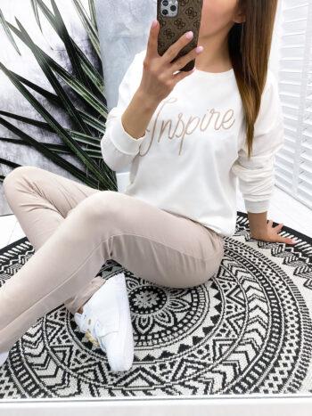 komplet dresowy INSPIRE beige
