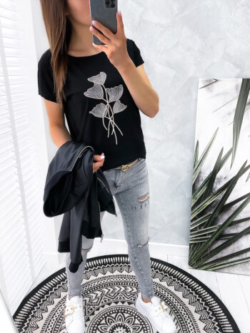 bluzka FLIN black