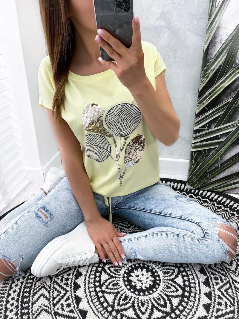 bluzka ADOR cytrynowa