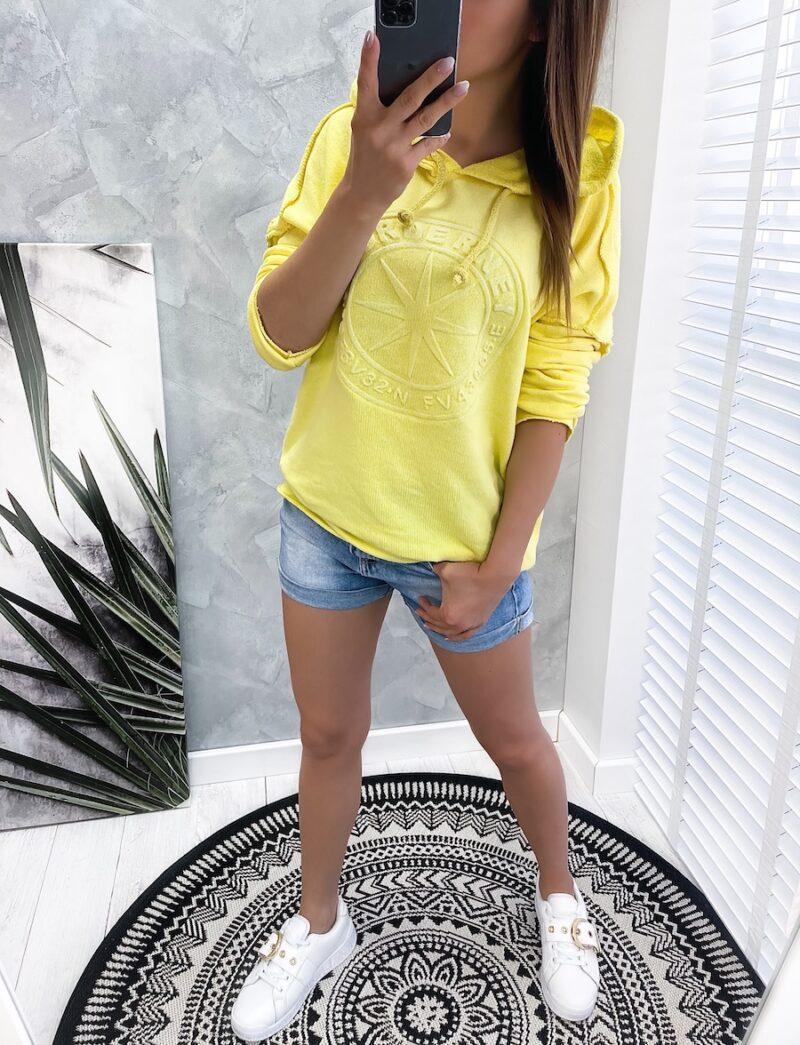bluza NORDE yellow
