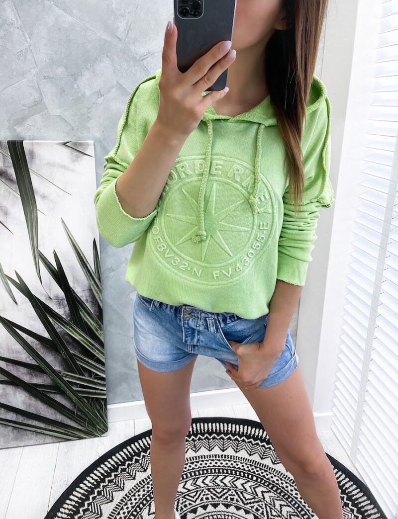 bluza NORDE green