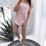 bluzka VINTAGE 3D puder