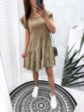 sukienka MIXT beige