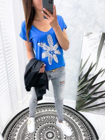 bluzka SEMA blue