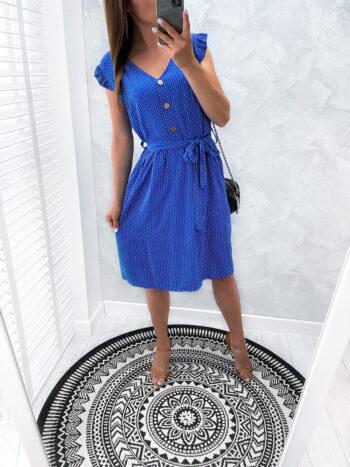 sukienka DOTSY marin