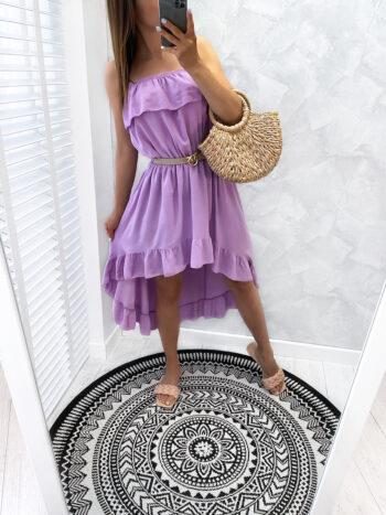 sukienka QUEEN fiolet