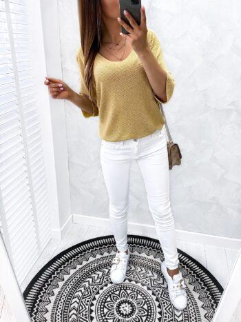 bluzka MOODAL gold
