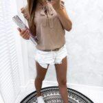 bluzka CLASSY beige