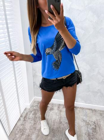 bluzka BIRD marin