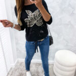 bluzka SENT black