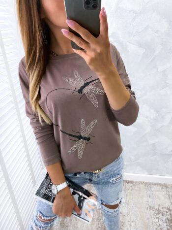 bluzka DRAGO brown