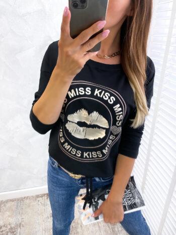 bluzka KISS black