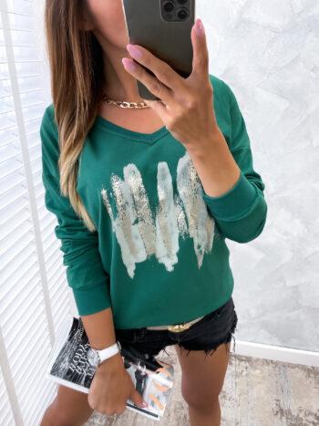 bluzka VNEW green
