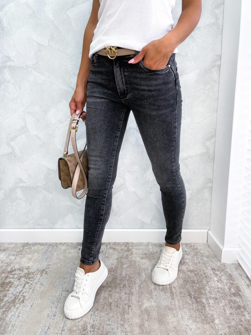 spodnie ONES black jeans
