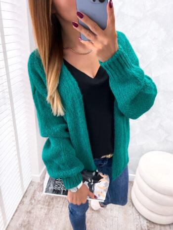 kardigan VELLO green