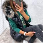 kamizelka LUXANNE black
