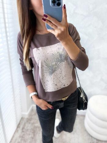 bluzka ARTIFF brown