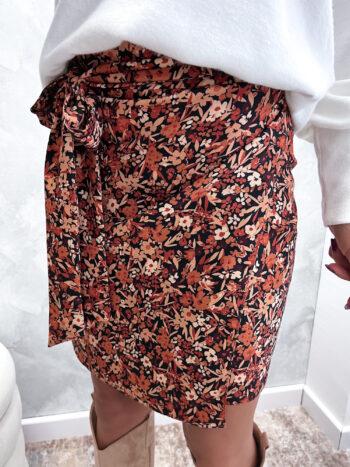 wiązana spódniczka floweru