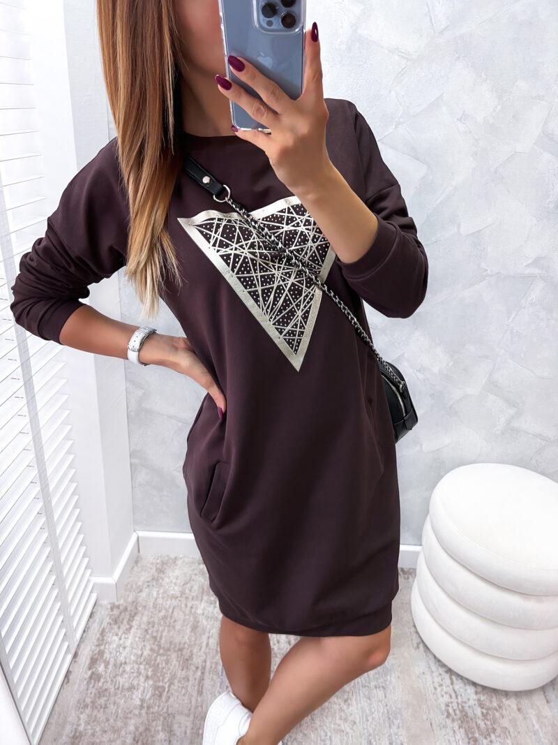 tunika DIAMOND brown