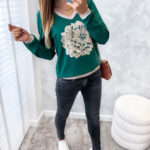 bluzka BLIS green